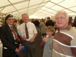 Harry, Richard and John, all 3WFR Notts HSF Veterans (ex REME, RN & RASC)