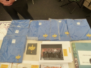 HSF Tee Shirts and a Blazer Badge on sale