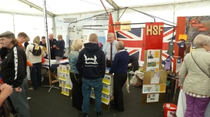 Who the hell are you lot?....We're The HSF Assn Madam