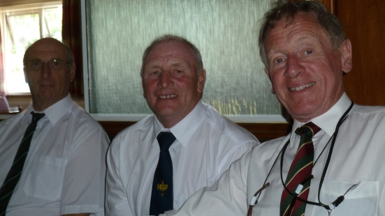 Don Punnett of Hereford HSF Association and Brian Talbot & Richard Owen (our photographer) of Nottinghamshire.